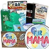 Für Mama | Pflegeset | Geschenk Set | Für Mama | Pflegebox | persönliches Geschenk für Mama | Geschenk für Mama 50 | GRATIS DDR Kochbuch