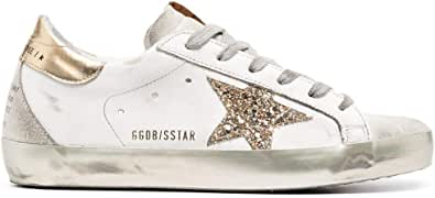 Golden Goose Luxury Fashion Donna GWF00102F00078610385 Bianco Pelle Sneakers | Ss21