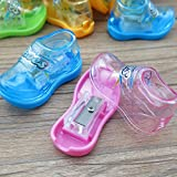 #7: INFInxt Shoes Shaped Sharpener for Kids Stationery and Birthday Return Gift 60 Pcs. (Pack of 1 Jar)