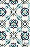 Taschenkalender Small Azulejos - mit Magnetverschluß - Kalenderbuch A6-14 Monate - Kalender 2019 - teNeues-Verlag - Taschenplaner mit Lesebändchen und Zetteltasche - 10 cm x 15 cm
