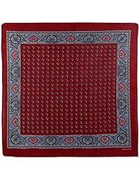 Mens Boys Cotton Vintage Style Decorative Red Paisley Bandana Bandanna