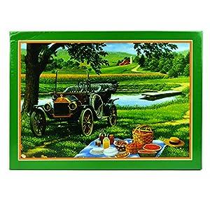 Gifts 4 All Occasions Limited SHATCHI-1047 - Puzle de 1000 piezas para picnic, para niños, cumpleaños, Navidad, multicolor