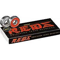 BONES, Cuscinetti a sfera, 8 pezzi, Rosso (Rouge)