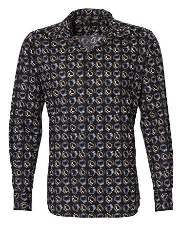 prada-uomini-camicia-per-ufficio-100-cotone-nero-39-m