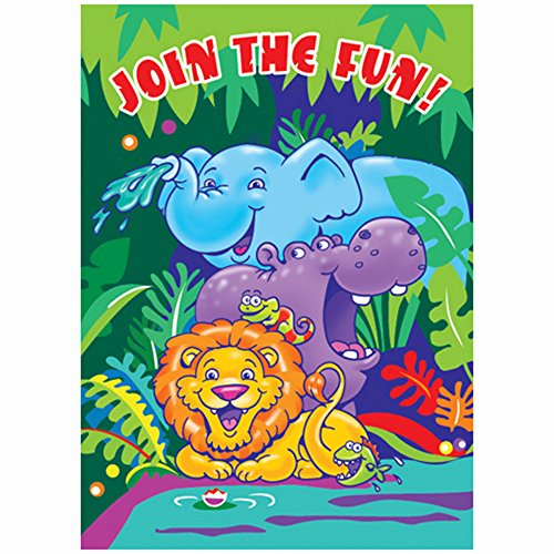 smiling safari invitations - Safari Trolley