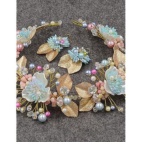 ZY/Donna/imitazione perla/zirconi headpiece-wedding/Occasioni speciali/Casual/All' aperto fasce 2pezzi, Ocean