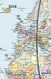 World Maps 2019 - Magneto Diary small, Buchkalender, Taschenkalender  -  10 x 15 cm