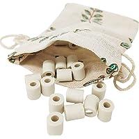Perles de céramique EM pour carafe 15 GRISE céramique EM + Pochon en coton - perles pour purifier l'eau éliminer…