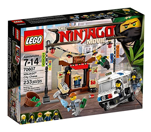 Preisvergleich Produktbild Lego The NINJAGO Movie 70607 Verfolgungsjagd in NINJAGO City - SOFORT LIEFERBAR