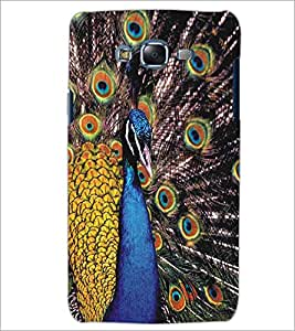 SAMSUNG GALAXY J5 PEACOCK Designer Back Cover Case By PRINTSWAG
