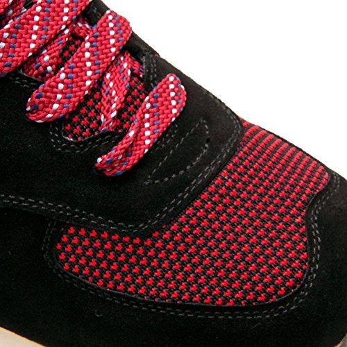 Zerimar Schuhe für Männer Erhöhen auf Unsichtbare Weise Ihre Körpergrösse, Höhe Steigerung, Versteckter anhebender Ferse, Erhöht Ihre Höhe bis zu + 7 cm 100% Leder Schwarz