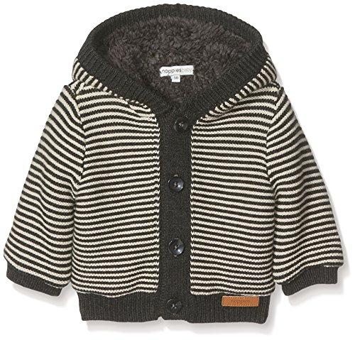 Noppies Baby-Jungen Strickjacke B Cardigan Knit Iowa, Charcoal Melange, 56