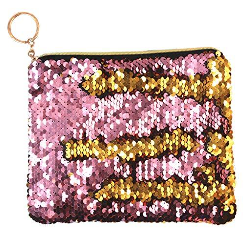 Sequin Handtasche Make up Tasche Abend Club Brieftasche Geldbörse Mode Kleine Kosmetiktasche Lippenstifte Nägel Tasche Pailletten Kosmetikbeutel Waschtasche -