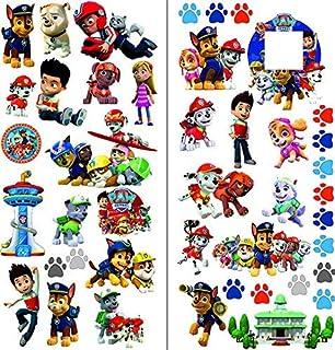 Wandtattoos Wandbilder Paw Patrol Wandtattoo Wandaufkleber 3d Kinder Decoration Wall Stickers 58cmx80cm Mobel Wohnen Elin Pens Ac Id