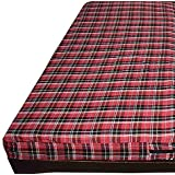 The Artsy Home Decor Cotton Mattress Cover for Single Bed Dewan with Zip/Chain 72x48x5, Multicolour (Color May Vary)