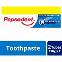 Pepsodent Germicheck Toothpaste - 150 g (Pack of 2)