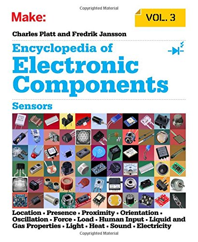 Make: Encyclopedia of Electronic Components Volume 3: Light, Sound, Heat, Motion, Ambient, and Electrical Sensors por Charles Platt