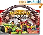 Malbuch Auto: Mit vielen bunten Stick...