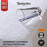 Best Feather Mattress Toppers - Linenwalas Waterproof & Dustproof Double Bed Fitted Mattress Review