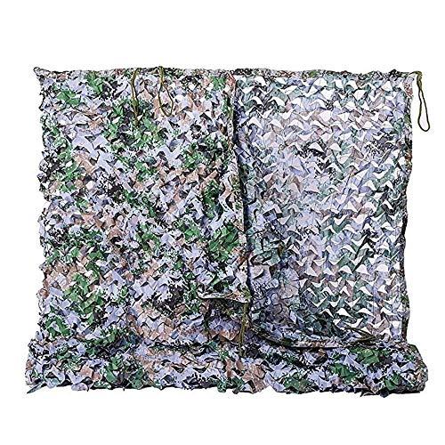 DGLIYJ Digitales Tarnnetz 150D Polyester Oxford Zweischichtiges Tarnnetz Außendecknetz Innendekorationsnetz 2x3M (größe : 8x8m) -