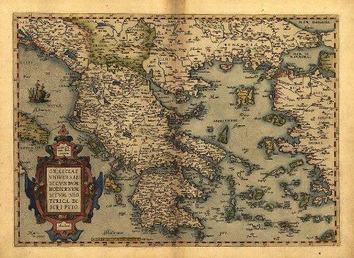 OFA Mapping - Reproducción mapa antiguo Grecia Abraham