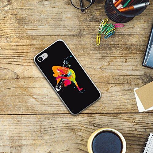 WoowCase Hülle Case für [ iPhone 7 ] Handy Cover Schutzhülle Strategie Fußballtisch Housse Gel iPhone 7 Transparent D0026