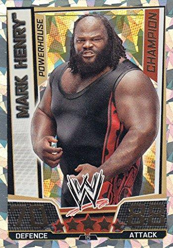 WWE Slam Attax Mark Henry Superstar Champion Card
