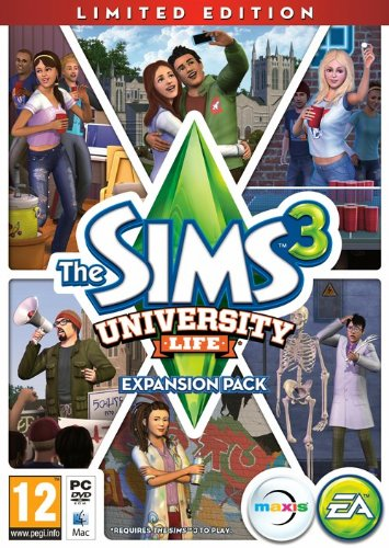 NEW & SEALED! The Sims 3 University Life Expansion Pack Limited Edition PC Game