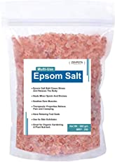 Zenvista Epsom Salt For Bathing, Relaxing Foot Soak, Pain Relief, Therapeutic Spa Treatment (Pure Magnesium Sulfate) - 500 gm