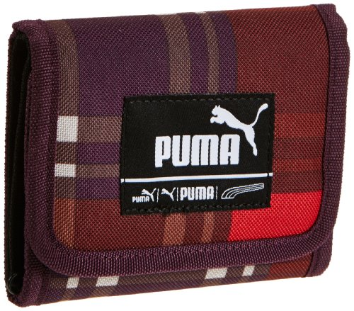 PUMA Uni Geldbeutel Foundation karo, ribbon red-italian plum-check, UA, 069114 24 (Geldbeutel Checks)
