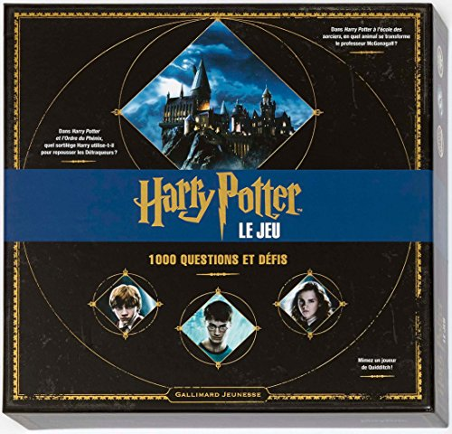 Harry Potter : Le jeu: 1 000 questions et défis par Collectif