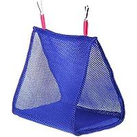 Everpert Hamaca triangular de malla suave transpirable para pájaros y loros para colgar en verano, fresca y transpirable