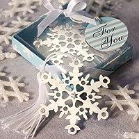 Snowflake Bookmark Favors [SET OF 24] by FashionCraft Wedding Favors preisvergleich bei billige-tabletten.eu