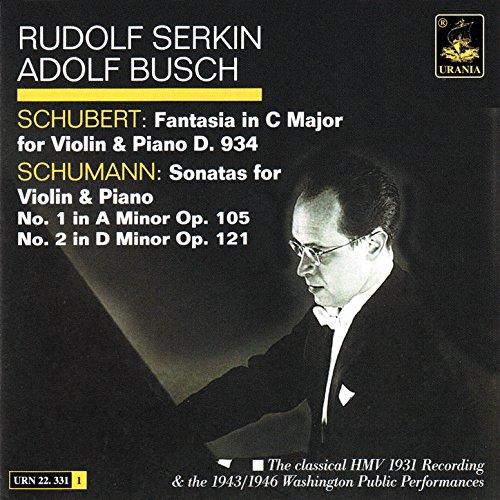 Sonata for Violin & Piano in A Minor, Op. 105: III: Lebhaft