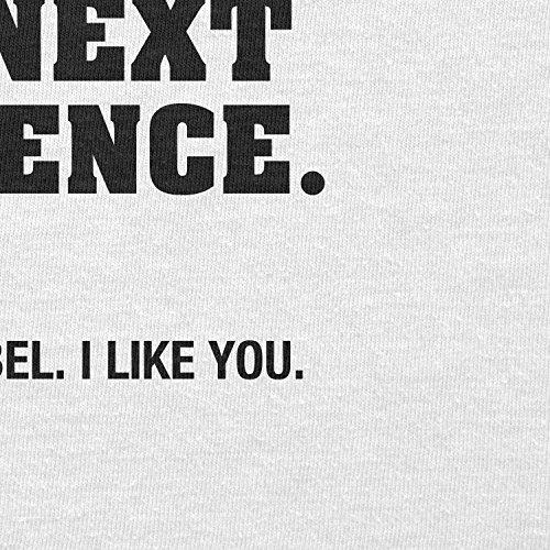 TEXLAB - You little Rebel - Damen T-Shirt Weiß