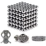 Juguetes de la Descompresión-Cubo de Bolas Magnéticas, Puzle de Bolas de Neodimio (216 Bolas Magnéticas)