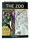 THE ZOO : Libro de Colorear para Adultos