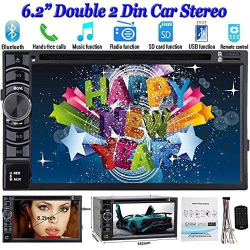 Head Unit 15,7cm 2DIN Auto Stereo DVD-Player Radio CD DVD Player am/fm/usb/sd Bluetooth