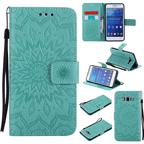 Luxury Mirror Makeup Plating Flip Case Glitter Crystal Hard PC PU Leather Bookstyle Foldable Protective Wallet Case Cover Shell Bumper for Samsung Galaxy J7 2016,Silver Surakey Galaxy J7 2016 Case