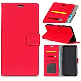 Huawei P20 Pro Card Holder Case, Huawei P20 Pro Wallet Case Slim, Huawei P20 Pro Folio Leather Case Cover Shockproof Case With Credit Card Slot, Durable Protective Case Compatible With