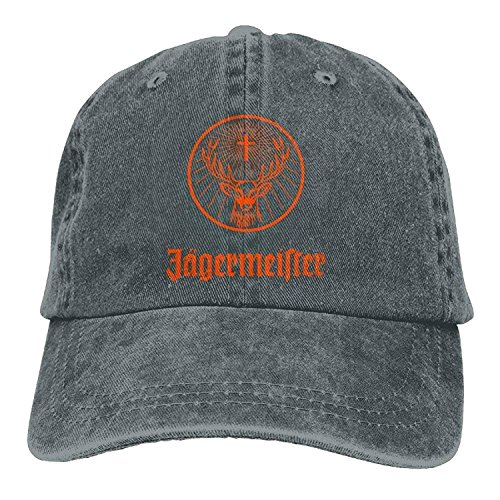 31ae34c7 Jagermeister Adult Hats Unisex Fashion Plain Cool Adjustable Denim Jeans  Baseball Cap Cowboy