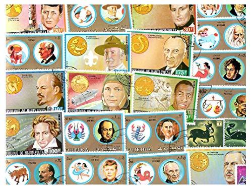 pghstamps Astrologie 25 Sammlung von verschiedenen Briefmarken für Sammler -