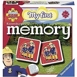 Ravensburger- My First Grand memory®- Sam le Pompier- Jeu Educatif- A partir de 2 ans et demi- 21204