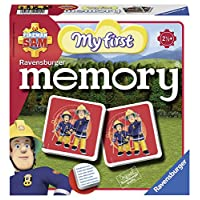 Ravensburger-21204-Fireman-Sam-Mein-erstes-Memory Ravensburger Kinderspiele 21204 – Fireman Sam Mein erstes memory® -