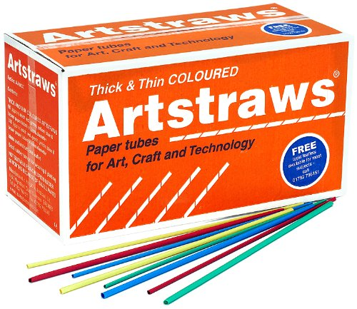 Artstraws School Pack  Thin  Thick Assorted Colours