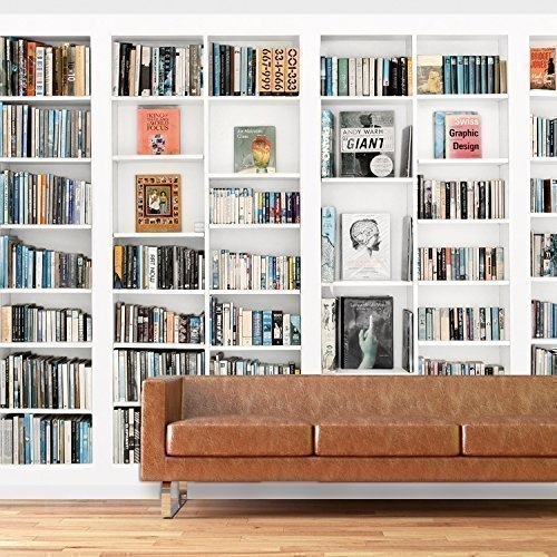 Walplus TM - Wandtatto Großes Foto Bücherregal Dekoration (Jungen Bücherregal)