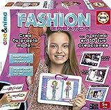 Educa Borrás - Crea&Nima Fashion Creator, juego creativo (16149)