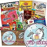 Für Dich (mit Einhorn) | Schokolade Paket | Geschenkideen | Für Dich (mit Einhorn) | Einhorn Mädchen | Einhorn Geschenk | mit Viba, Zetti und mehr