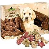 Schecker Adventskalender für Hunde ohne Zucker ohne Salz ohne Guten frei von synthetischen Zusatzstoffen Keine Farbstoffe