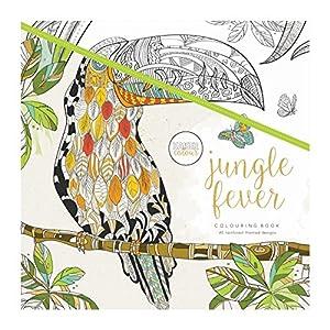 Kaisercraft Jungle Fever Coloring Book, multicolor
